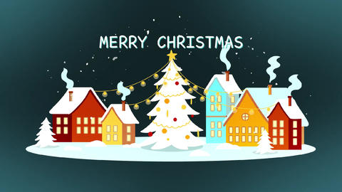 Christmas Greetings Slideshow After Effects Template
