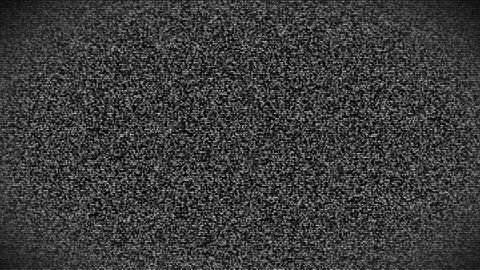 TV noise Animation