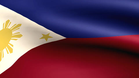 Flagge Philippinen Animation