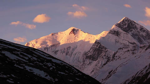 Annapurna Peak Sunrise HD Footage