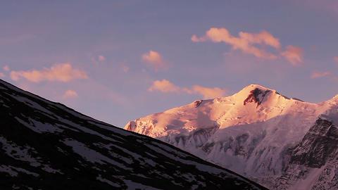Annapurna Peak Sunrise Animation