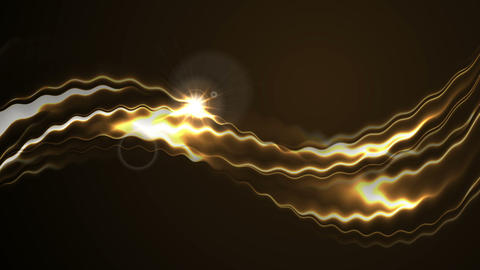 Abstract flowing chocolate waves video animation Animation