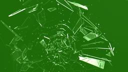 Glass Breaking - Green Screen Animation