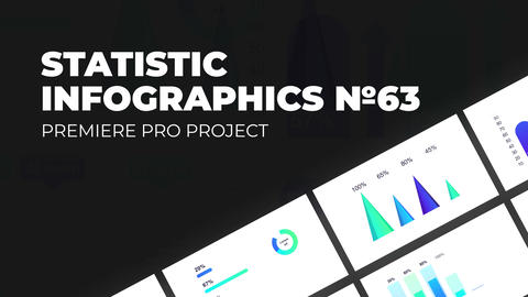 Statistic Infographics Vol.63 for Premiere Pro