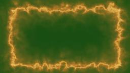 Fractal - Fire Energy Style Frame Animation