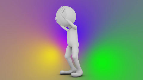 Dancing faceless man Animation