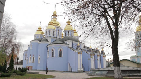 Temple of Orthodox Church Footage