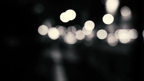 Monochrome high speed Bokeh ビデオ