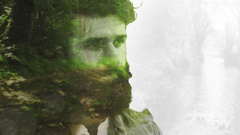 Conceptual forest hipster CG動画