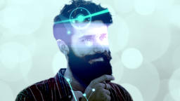 Conceptual network hipster CG動画