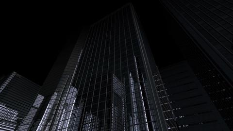 Skyscraper 2 Db1 dark 4k Animation