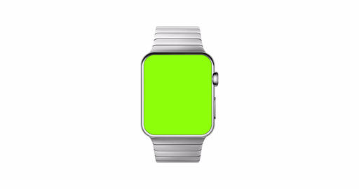 Wrist Watch With Green Screen Animated Mockup Animation
