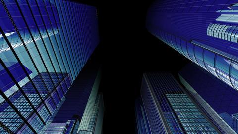 Skyscraper 2 Fb2 dark 4k Animation
