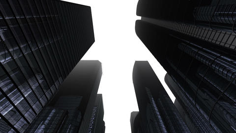 Skyscraper 2 Fg2 white 4k Animation