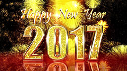 Happy New Year 2017 Animation