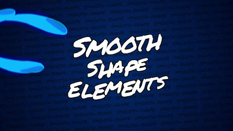 Final Cut Pro - Smooth-Shape Elements Apple Motion Template
