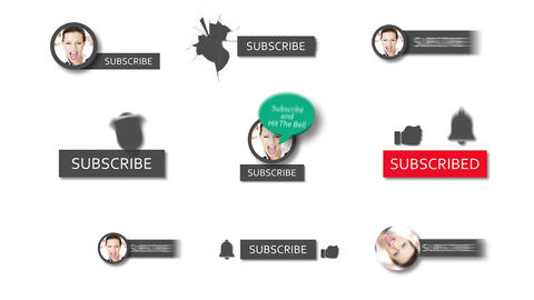 Youtube Subscribe Pack After Effects Template