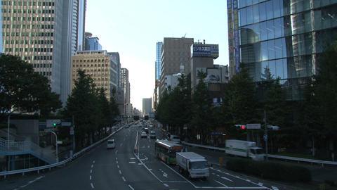 Shinjuku street day 01 sound Stock Video Footage