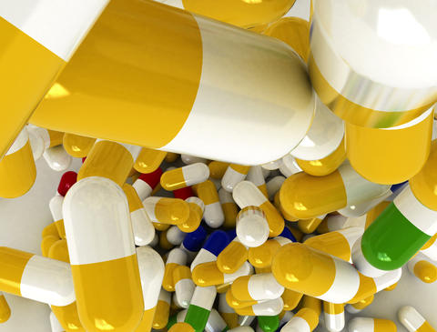 4k Pills Top stock footage