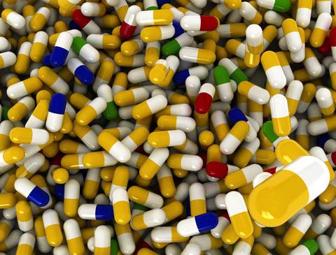 4k pills Top Stock Video Footage