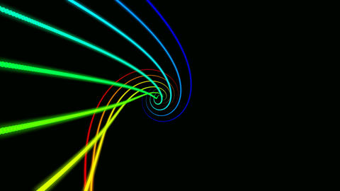 color twist Stock Video Footage