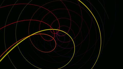 hypnotize line Animation