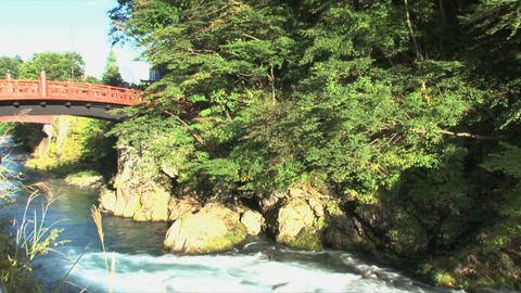 Nikko bridge Stock Video Footage