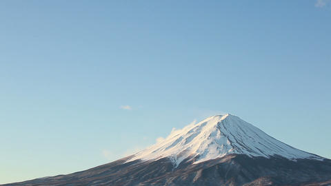 close up of Mt.Fuji Footage