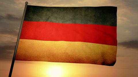 Flag Germany 05 Animation