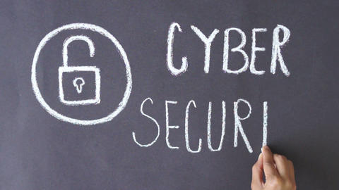 Cyber Security Stock Video Footage