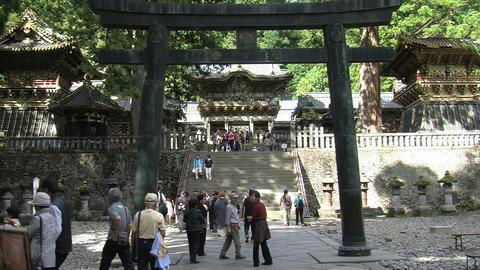 Nikko shrine 09 zoomout Footage