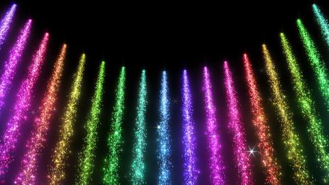 Light Water Fall 6 2 R HD Stock Video Footage