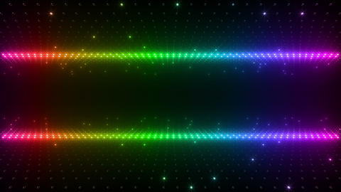 LED Wall 2 W Ds O 2 HD Stock Video Footage