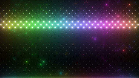 LED Wall 2 W Hs M HD Stock Video Footage