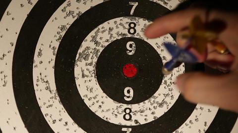 darts 04 Stock Video Footage