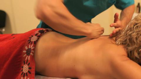 massage 01 Stock Video Footage