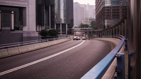 Time Lapse of busy Traffic Stock Video Footage