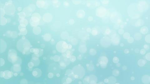 Light blue bokeh holiday background Animation