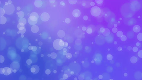 Purple blue bokeh holiday background Animation