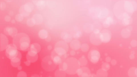 Blurred pink bokeh background Animation