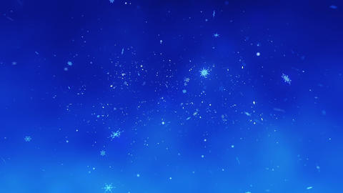 Congratulatory Christmas video card. Decorative snowflakes create a congratulatory inscription Animation