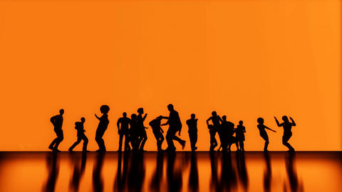 3D background Dance And Joy 2 Animation