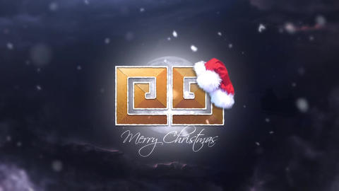Christmas Snow Logo Reveal After Effects Template