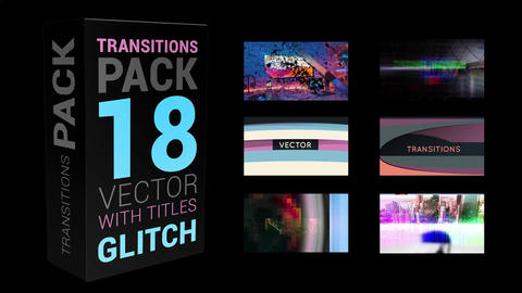 Transitions Pack Apple Motion Template