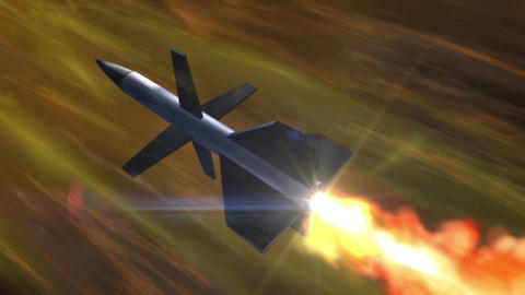 SHA Missile Fire Image Yellow Animation