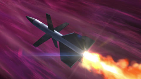 SHA Missile Fire Image Pink Animation