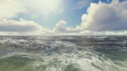 Waves On Ocean Animation