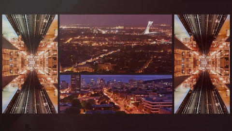 Mirror City After Effects Template