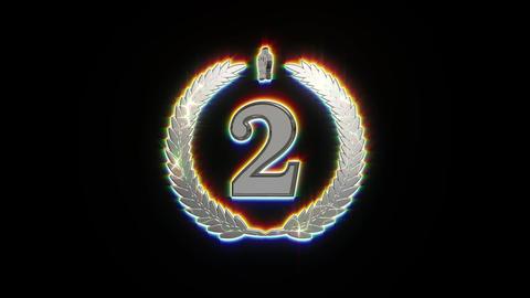 second silver icon symbol animation Animation
