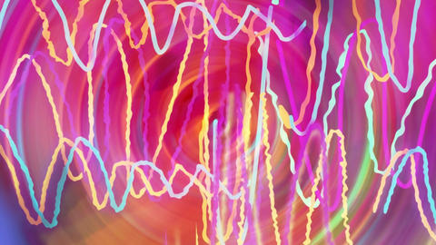 Colored Rocking Lines (2) Animation
